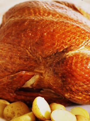 Классика - запеченная курица в пароварке