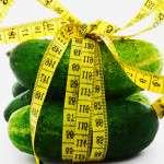 как похудеть с помощью огурцов