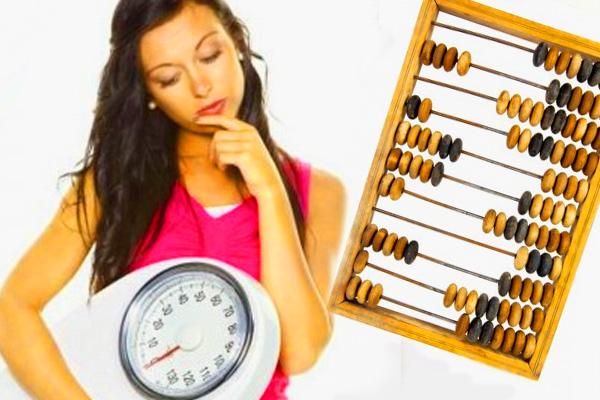 как рассчитать сколько калорий употреблять чтобы похудеть