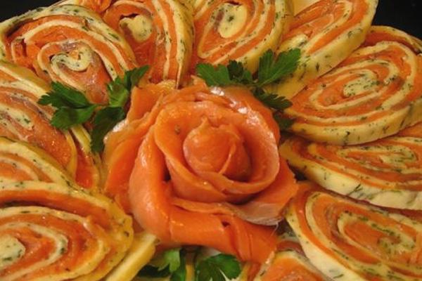 Оформление отдельного блюда
