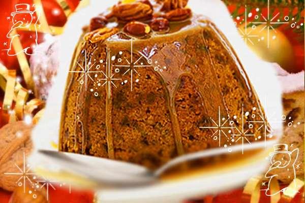 Рождественская выпечка - английский пудинг