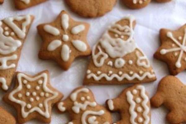 Рождественская выпечка - имбирные пряники