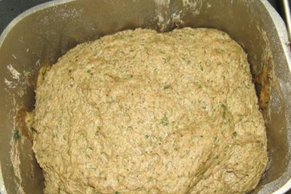 Тесто для рецепта ржаного хлеба для хлебопечки