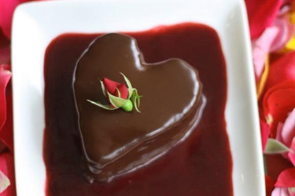 Шикарный десерт к романтическому завтраку