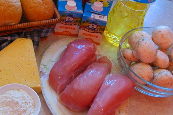 Готовим вкусный жульен с грибами и сыром