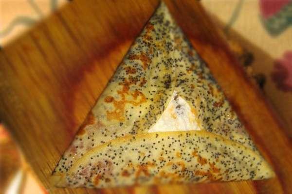 Как красиво подать блины - готовим пирамидку