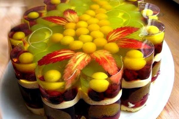 Желе из фруктов своими руками