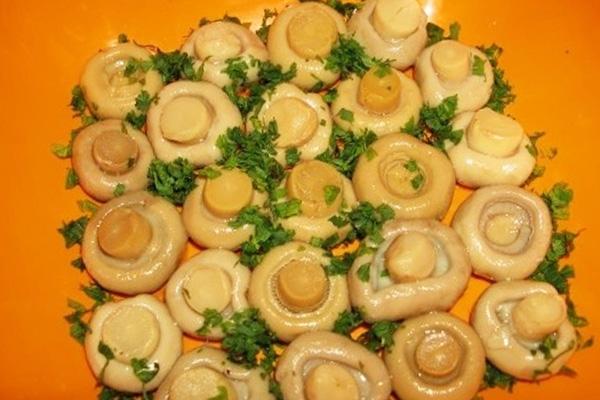 Лесная поляна салат рецепт с с курицей