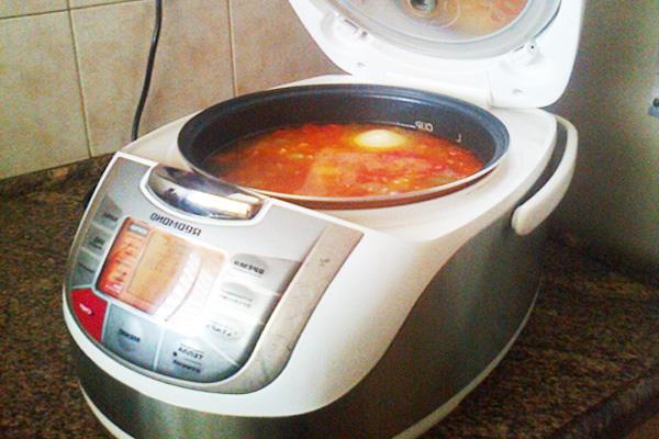 Готовим суп с грибами и катофелем в мультиварке