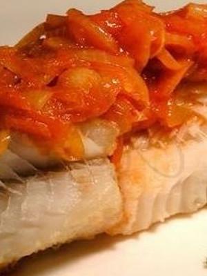 Рецепт жаренного филе минтай в томатном соусе
