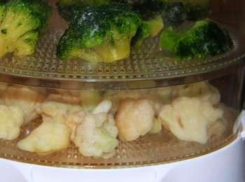 Как в пароварке приготовить капусту