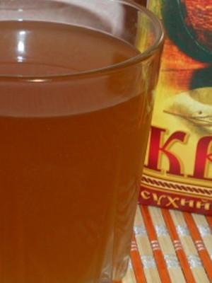 Квас из сухой закваски на 3 литра