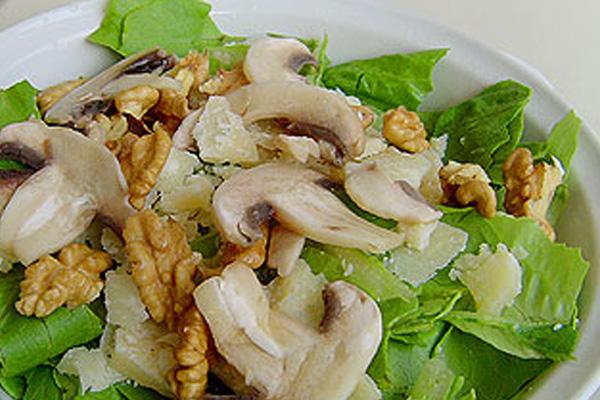 Салаты с грибами вешенки рецепт
