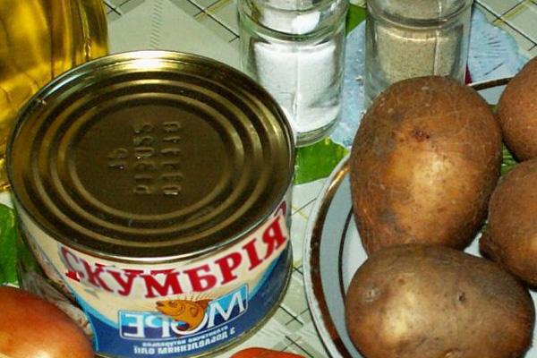 Суп из консервы скумбрия