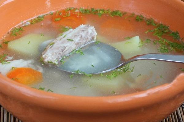 Суп из рыбной консервы с фото скумбрия