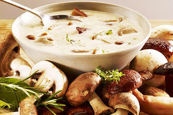 рецепт грибного супа из сушеных грибов с фасолью