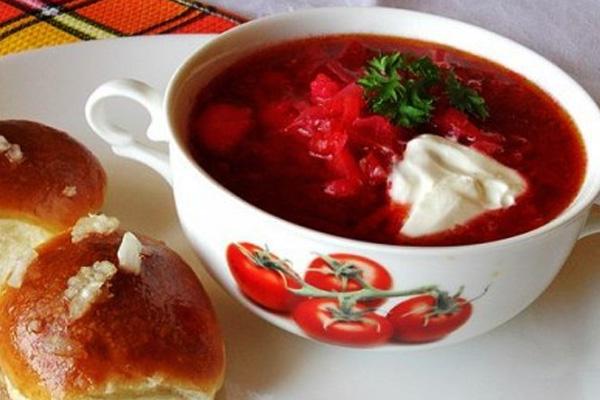 Украинский борщ - рецепт приготовления