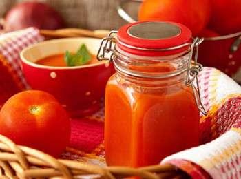 как сделать аджику из помидоров с чесноком простой рецепт