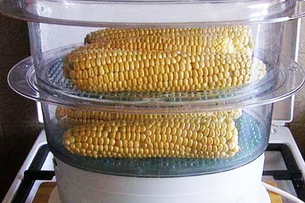 Как приготовить фасоль и кукурузу в пароварке