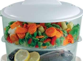 Как готовить овощи в пароварке