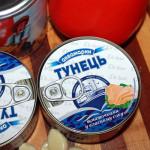 Суп из консервы тунца