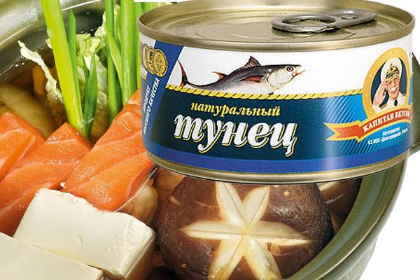 Рецепт супа из консервов тунец