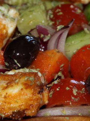 Как сделать салат греческий