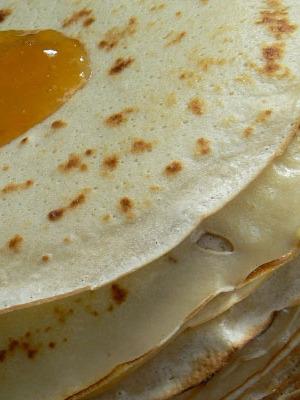 Блины на кислом молоке – рецепт без яиц