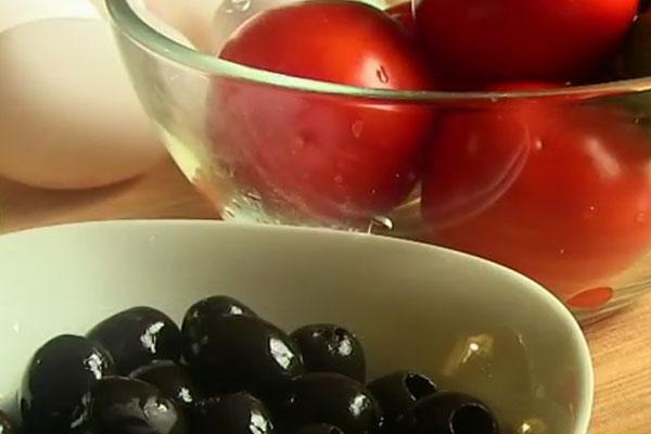 "Cалат ""арбуз"" - домашний рецепт"