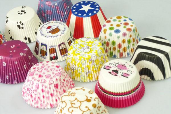 Виды бумажных формочек для выпечки кексов