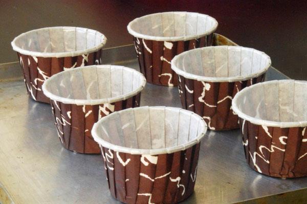 Бумажные формы для выпечки кексов