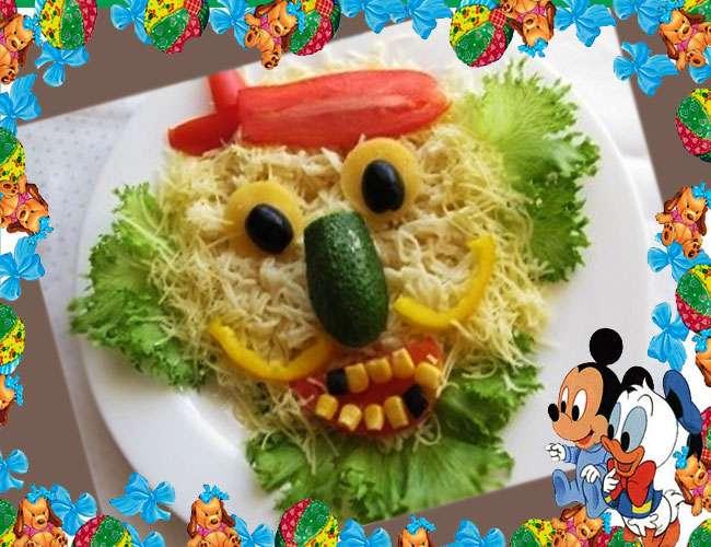 Оформление блюд для детей - интересные идеи