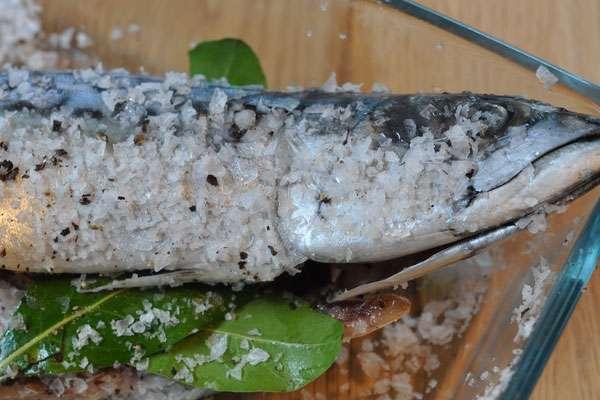 Скумбрия соленая - домашний рецепт