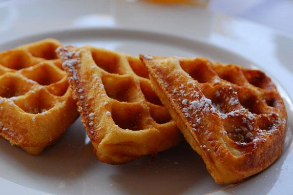 Немецкие вафли для завтрака