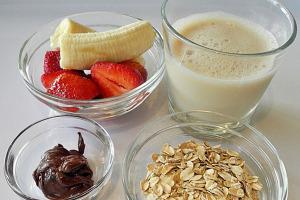 Смузи на завтрак