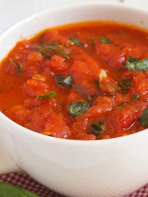 Томатный соус для детских блюд