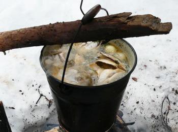 рыбный суп с семгой и пшеном рецепт