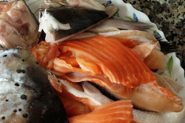 Рецепт из брюшек семги