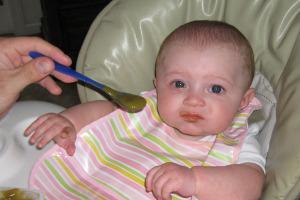 Детское меню ребенка 10 месяцев