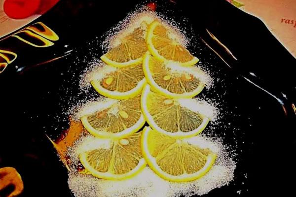 Украшение из лимона своими руками