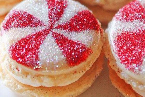 Красивое печенье к Новому году