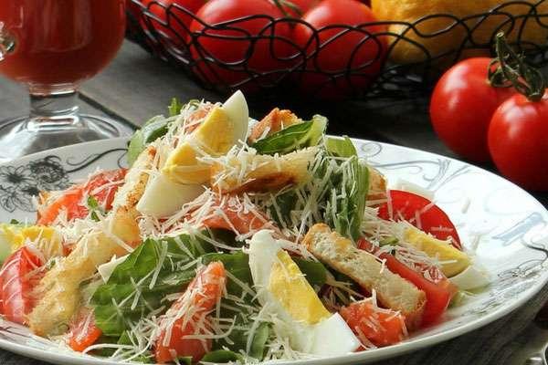 Салат цезарь пошаговый рецепт с с семгой 68