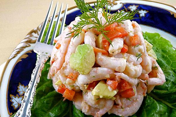 Салат с морским коктейлем рецепт пошагово с фото