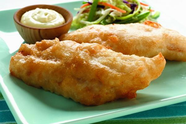 Филе в кляре - вкусное блюдо из рыбы для детей