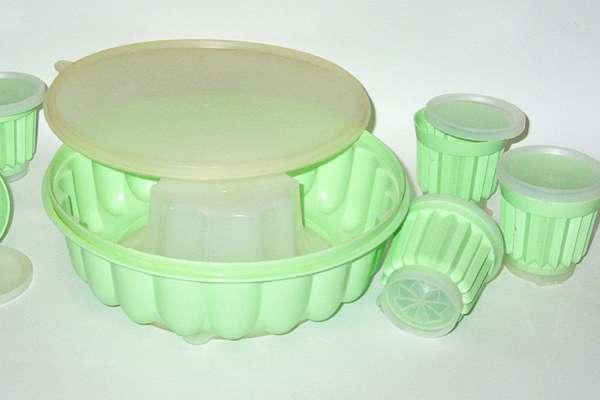 Посуда и формочки для желе