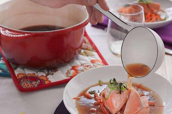 суп из семги рецепт поваренок