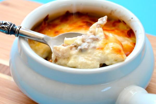 Обед из мяса - рецепт жульена