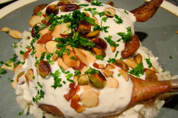 Курица по-арабски