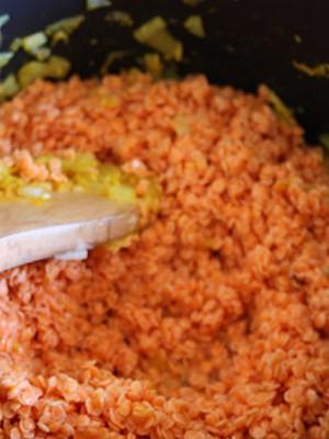 Рецепт приготовления каши из красной чечевицы
