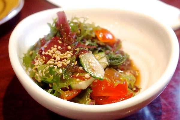 Салат из морской капусты - отличный рецепт обеда для беременных